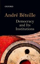 Democracy and Its Institutions