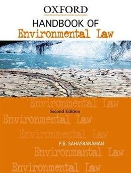 Book Handbook of Environmental Law by P.B. Sahasranaman