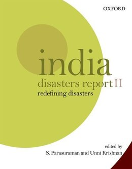 Book India Disasters Report II: Redefining Disasters by S. Parasuraman