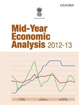 Book Mid-Year Economic Analysis 2012-13 by Ministry of Finance Government of India