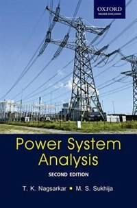 Book Power System Analysis: Power System Analysis by T. K. Nagsarkar