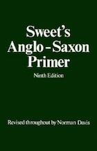 Sweets Anglo-Saxon Primer