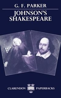 Book Johnsons Shakespeare by G. F. Parker