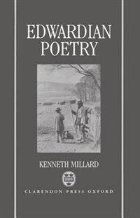Edwardian Poetry