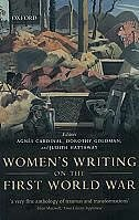 Book Womens Writing on the First World War by Agnes Cardinal