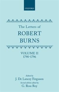 Book The Letters: II. 1790-1796 by Robert Burns