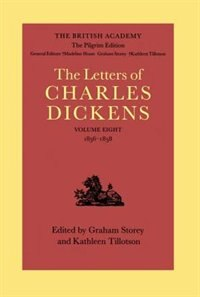 Book The British Academy/The Pilgrim Edition of the Letters of Charles Dickens: Volume 8: 1856-1858 by Charles Dickens