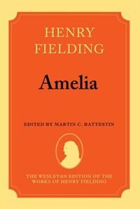 Book Amelia by Henry Fielding