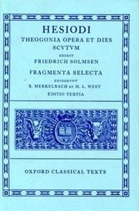 Book Hesiod Theogonia, Opera et Dies, Scutum, Fragmenta Selecta by F. Solmsen