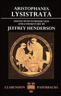 Book Lysistrata by Aristophanes