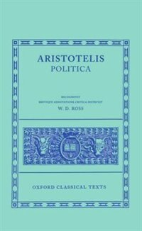 Book Aristotle Politica by David Ross