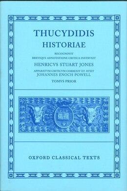 Book Thucydides Historiae Vol. I: Books I-IV by H. Stuart-Jones