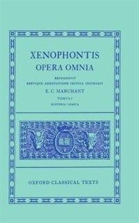Book Xenophon I. Historia Graeca by E. C. Marchant