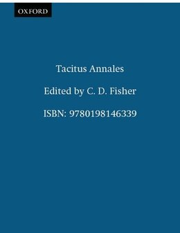 Book Tacitus Annales by C. D. Fisher