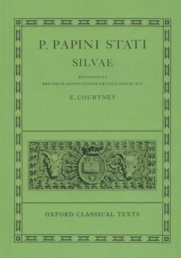 Book Statius Silvae by E. Courtney