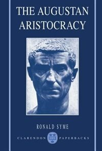 Book The Augustan Aristocracy by Ronald Syme