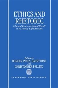 Book Ethics and Rhetoric: Classical Essays for Donald Russell on his Seventy-Fifth Birthday by Doreen C. Innes
