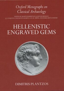 Book Hellenistic Engraved Gems by Dimitris Plantzos