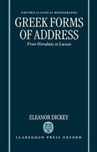 Greek Forms of Address: From Herodotus to Lucian