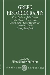 Book Greek Historiography by Simon Hornblower