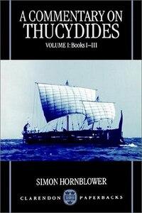 A Commentary on Thucydides: Volume I: Books i-iii