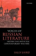 Book Voices of Russian Literature: Interviews with Ten Contemporary Writers by Sally Laird