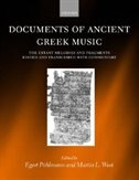 Book Documents of Ancient Greek Music: The Extant Melodies and Fragments edited and transcribed with… by Egert Pohlmann