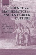 Book Science and Mathematics in Ancient Greek Culture by Lewis Wolpert