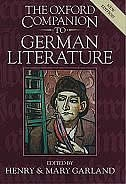 Book The Oxford Companion to German Literature by Mary Garland