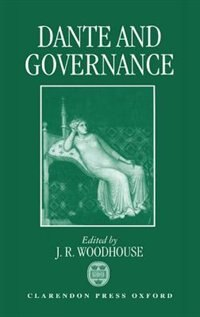 Book Dante and Governance by John Woodhouse