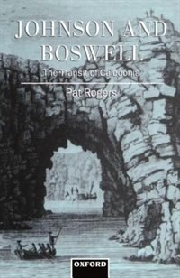 Book Johnson and Boswell: The Transit of Caledonia: The Transit of Caledonia by Pat Rogers