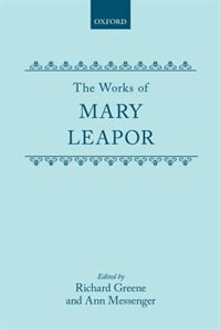 Book The Works of Mary Leapor by Mary Leapor