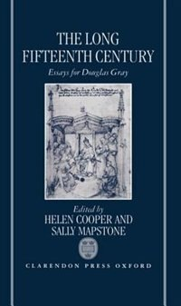 Book The Long Fifteenth Century: Essays for Douglas Gray by Helen Cooper