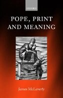 Book Pope, Print, and Meaning by James McLaverty