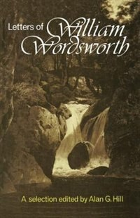 Book The Letters: A New Selection by William Wordsworth