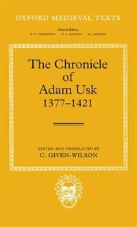 Book The Chronicle of Adam Usk 1377-1421 by Adam Usk