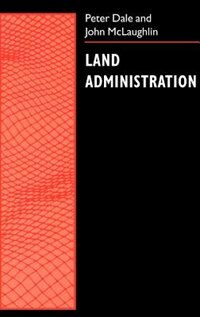 Book Land Administration by Peter Dale
