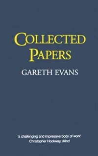 Book Collected Papers by Gareth Evans