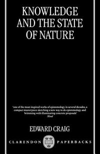 Knowledge and the State of Nature: An Essay in Conceptual Synthesis