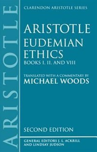 Book Eudemian Ethics Books I, II, and VIII: Eudemian Ethics 2/e by Michael Woods