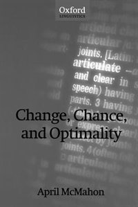 Book Change, Chance, and Optimality by April McMahon