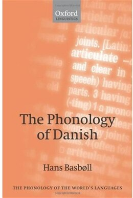 Book The Phonology Of Danish by Hans Basboll