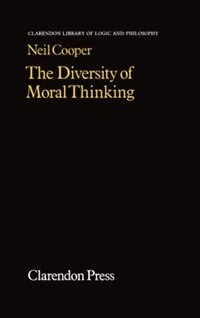 Book The Diversity of Moral Thinking by Neil Cooper