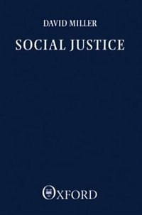 Book Social Justice by David Miller