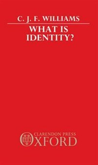 Book What Is Identity? by C. J. F. Williams