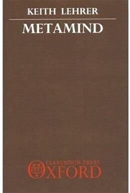 Book Metamind by Keith Lehrer
