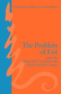 Book The Problem of Evil by Marilyn McCord Adams