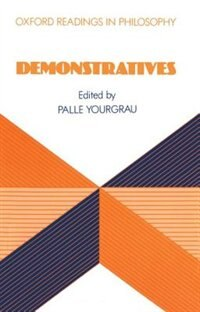 Book Demonstratives by Palle Yourgrau
