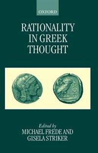 Book Rationality in Greek Thought by Michael Frede