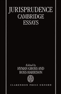 Book Jurisprudence: Cambridge Essays by Hyman Gross